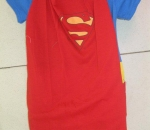 Superman romper costume